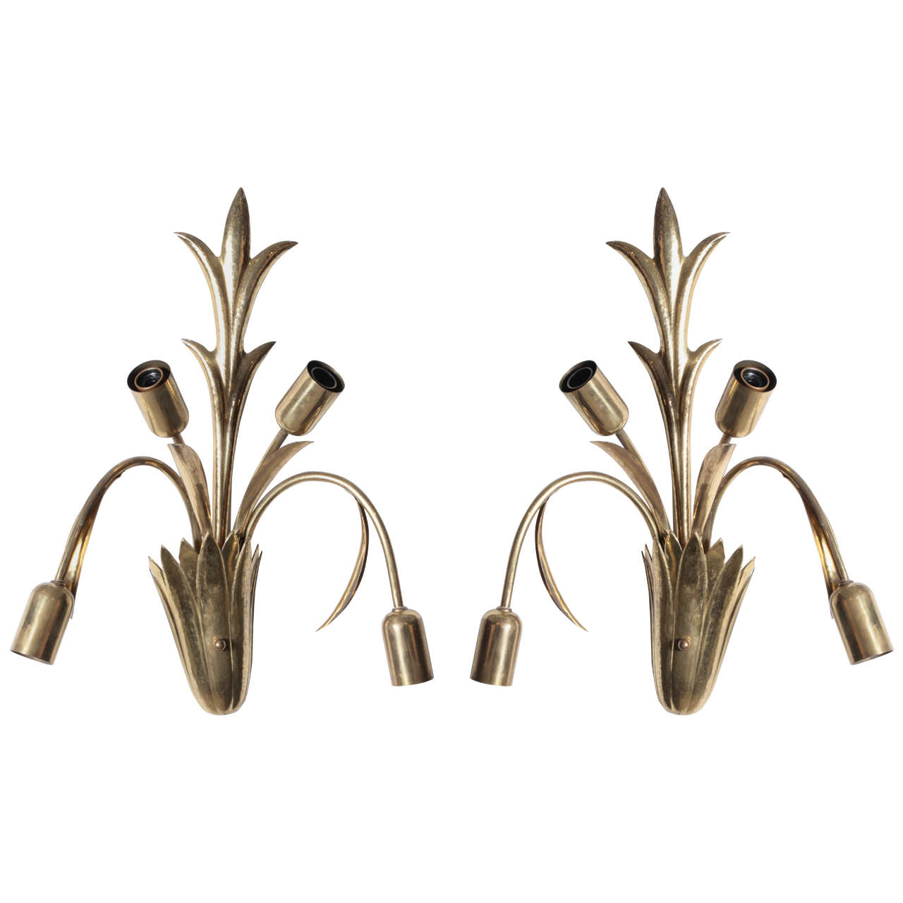 Pair of 1940s Italian Sconces