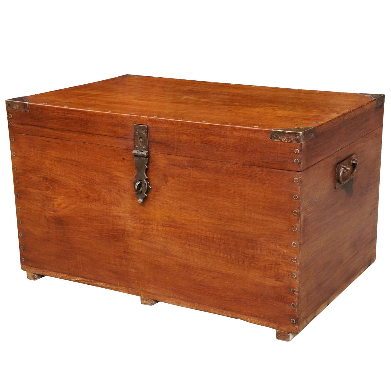 A good anglo indian camphor wood trunk at stdibs