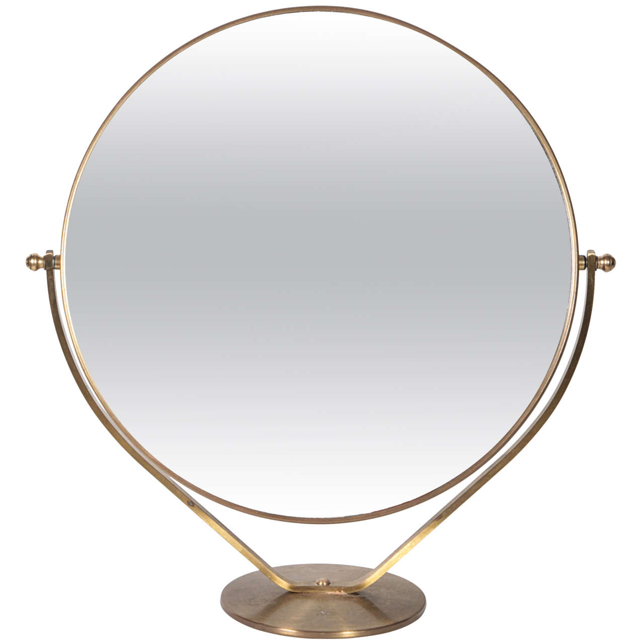 Ordinaire Graceful Tabletop Vanity Mirror For Sale