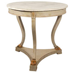 Swedish Painted Center Table