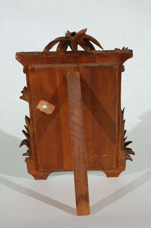Hand carved egyptian revival dressing table mirror at stdibs