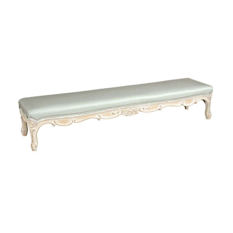 Hearth Bench: A French Hearth Bench, C. 1880, Pickfair At 1stdibs