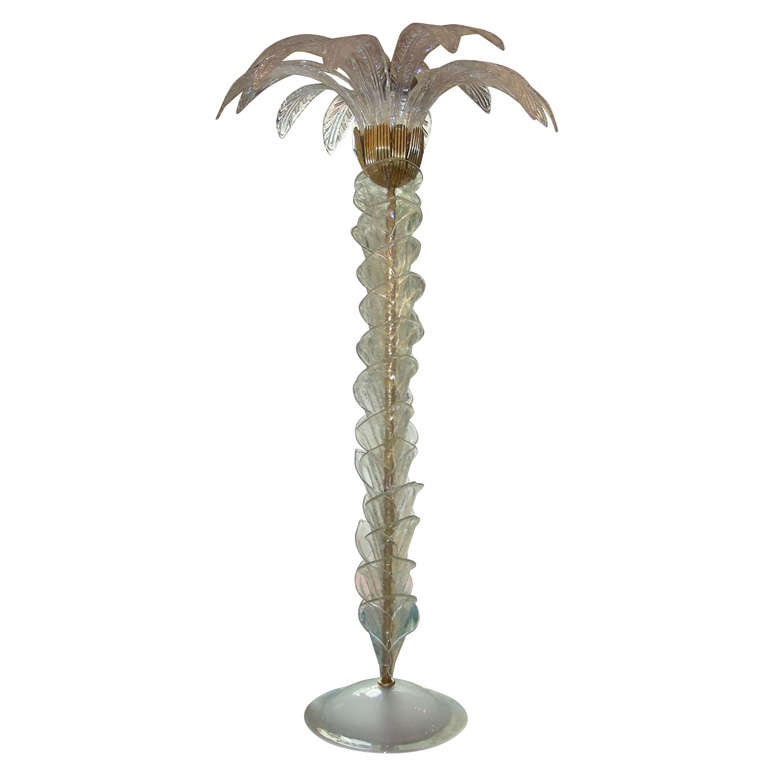 outdoor palm tree floor lamp floor lamps lacquered metal palm tree. Black Bedroom Furniture Sets. Home Design Ideas