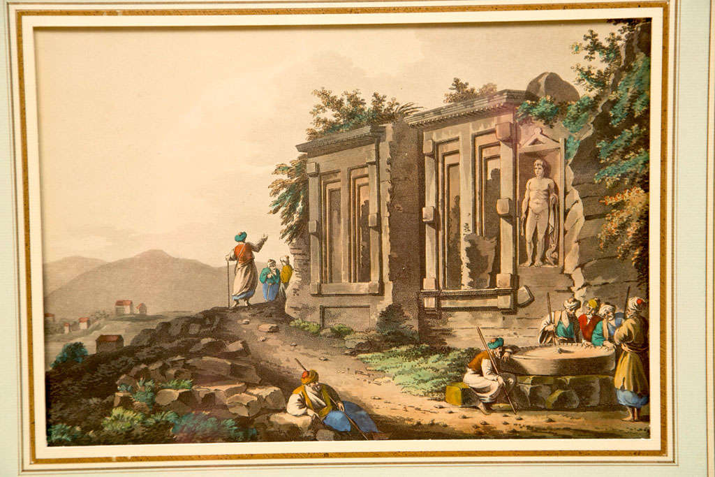 (possibly) -- DANIELL, Thomas (1749-1840) and William DANIELL (1769-1837) A Picturesque Voyage to India; by the way of China, published 1810.