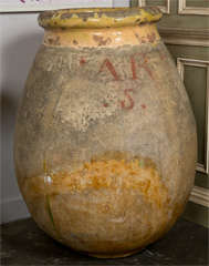 French Biot oil jar, c. 1750-1800 image 2