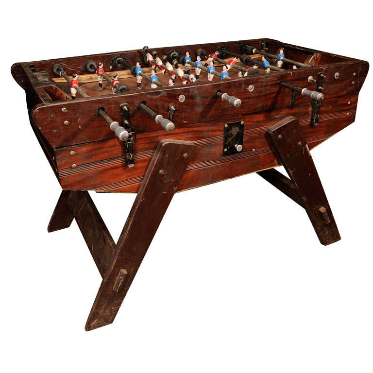 Awesome Vintage Foosball Table At Stdibs - Antique foosball table for sale