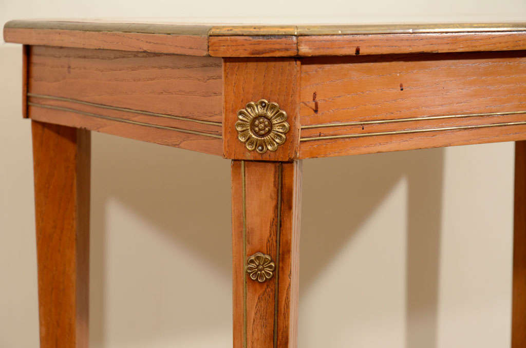 19th Century Continental Ash Table 6