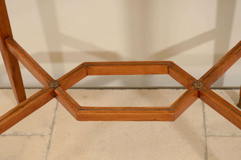 19th Century Continental Ash Table 7