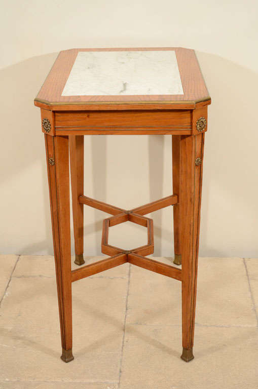 19th Century Continental Ash Table 8