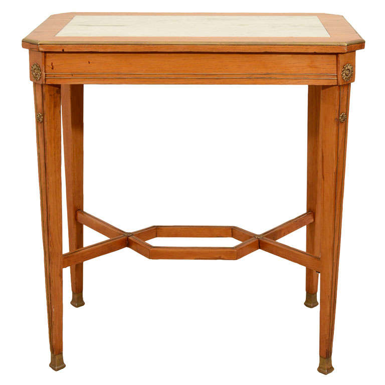19th Century Continental Ash Table 1