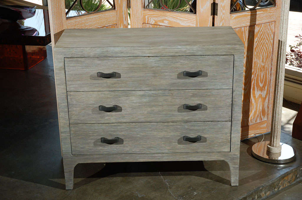 Paul Marra Distressed Fir Chest For Sale 1