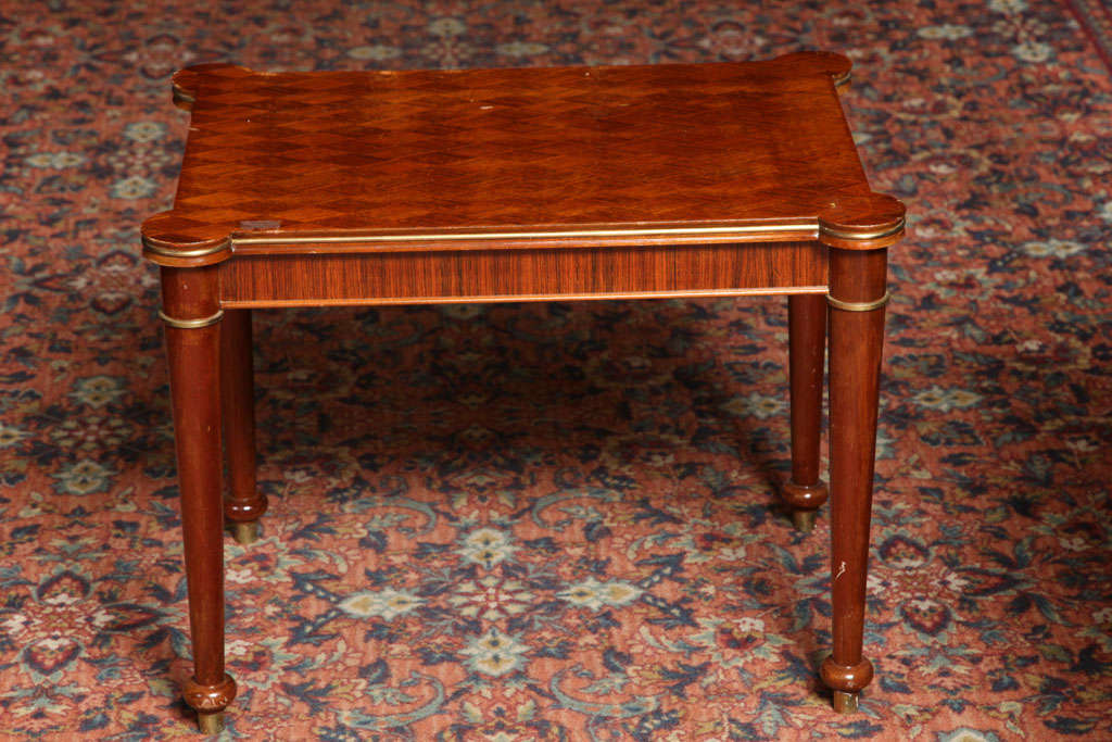 Mid-Century Modern Jules Leleu Rectangular Coffee Table For Sale