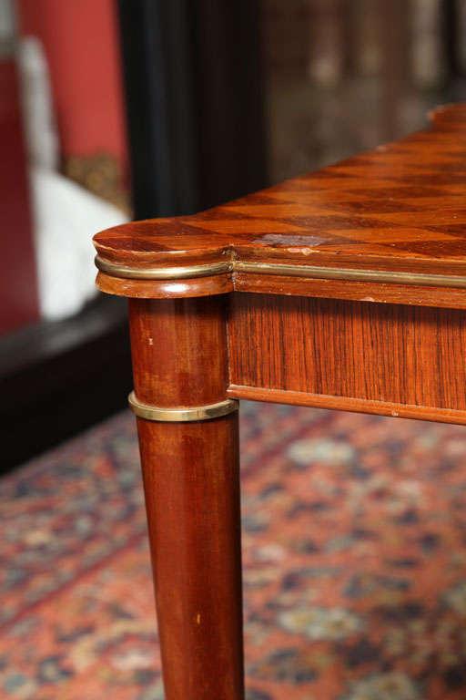 Rosewood Jules Leleu Rectangular Coffee Table For Sale