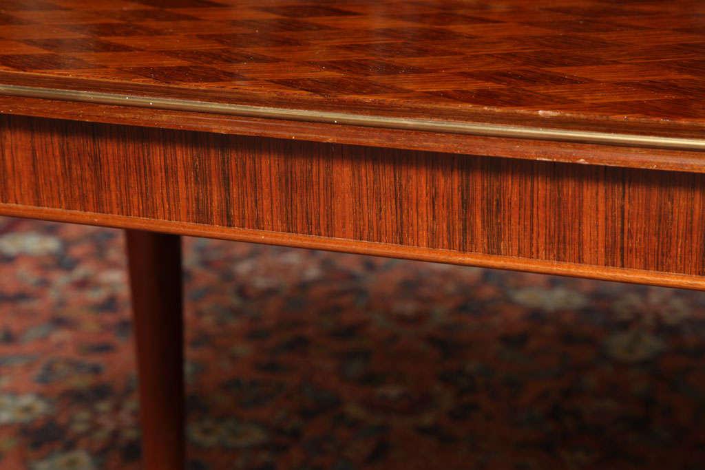Jules Leleu Rectangular Coffee Table For Sale 2