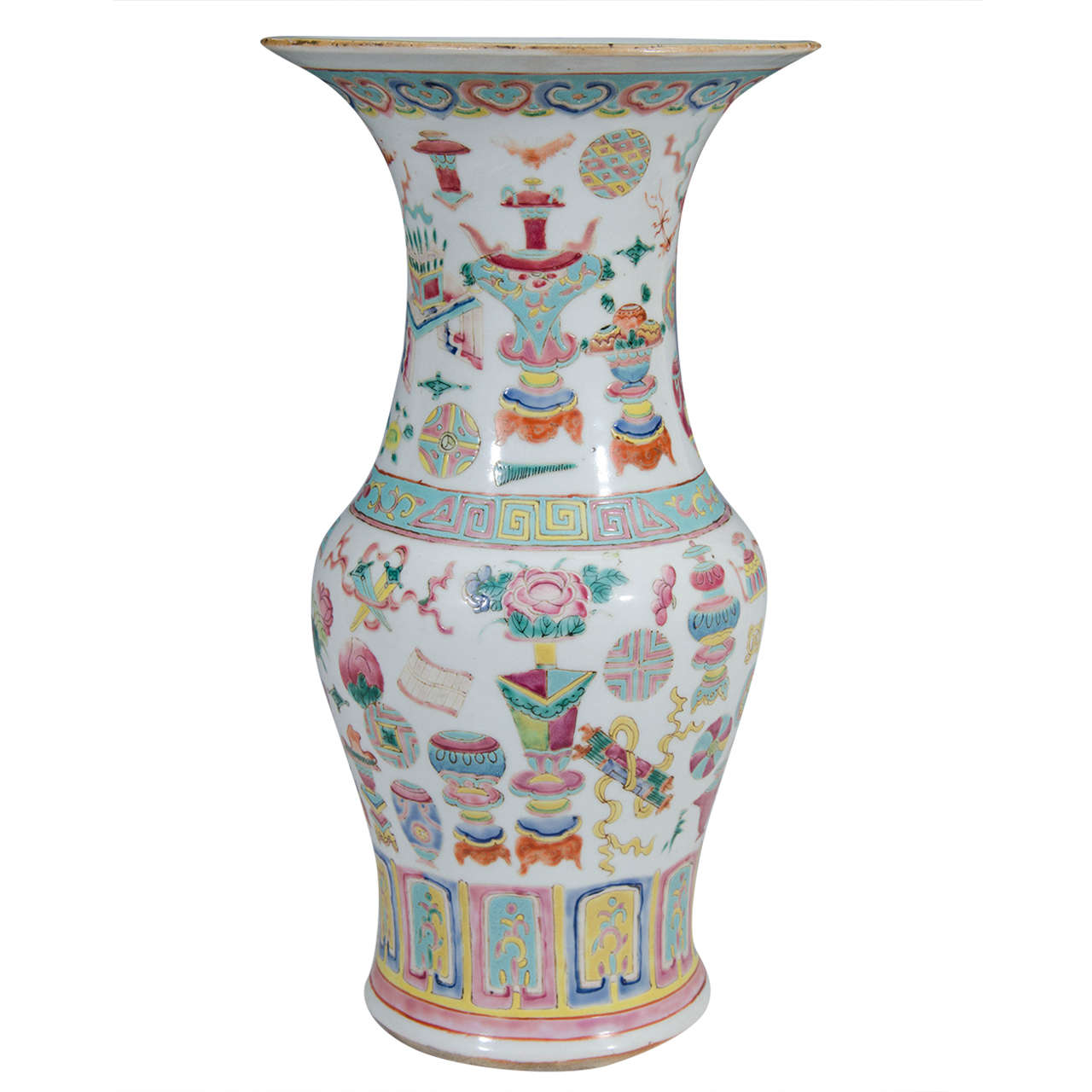 19th century chinese famille rose vase at 1stdibs 19th century chinese famille rose vase for sale reviewsmspy