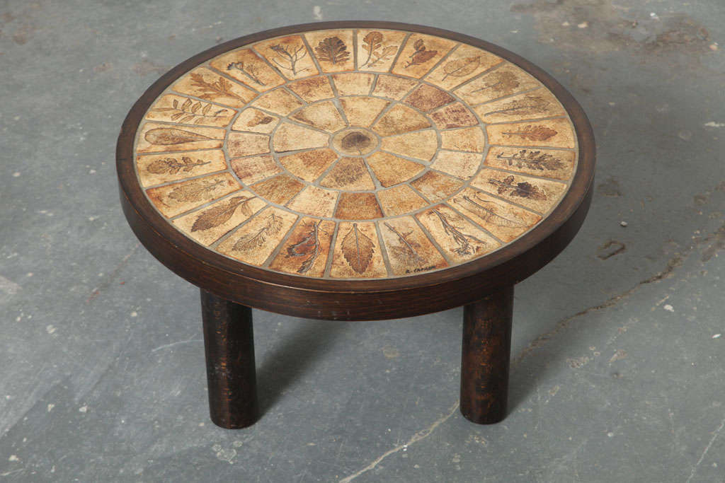 French Coffee Table by Roger Capron with