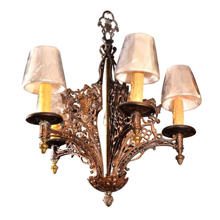 Gothic Tudor Light Fixture