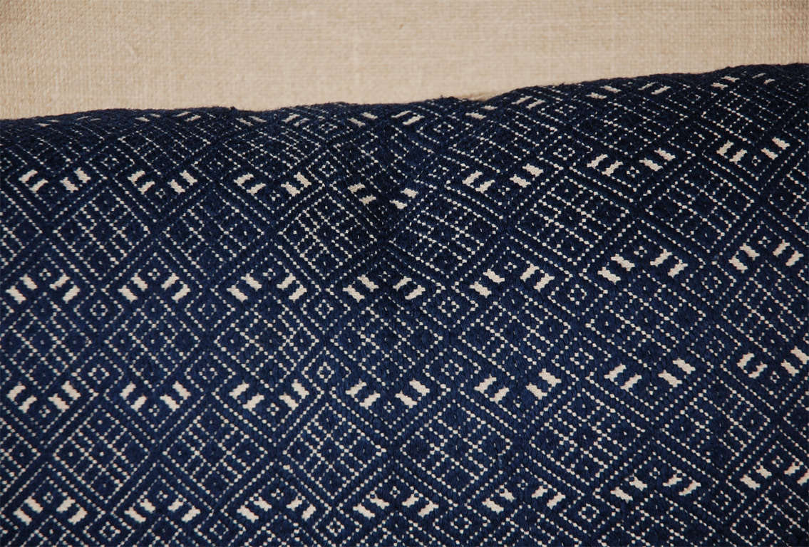 Mid-20th Century African Textile Bolster