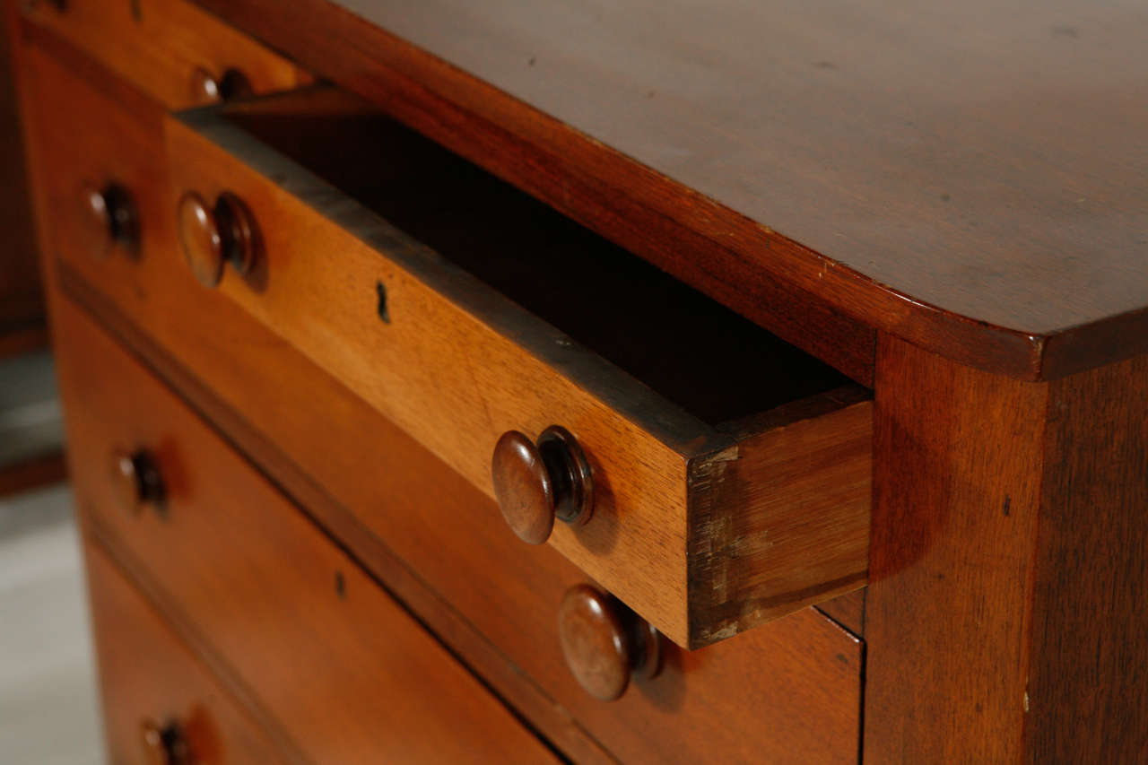 Early American Six Drawer Dresser At 1stdibs