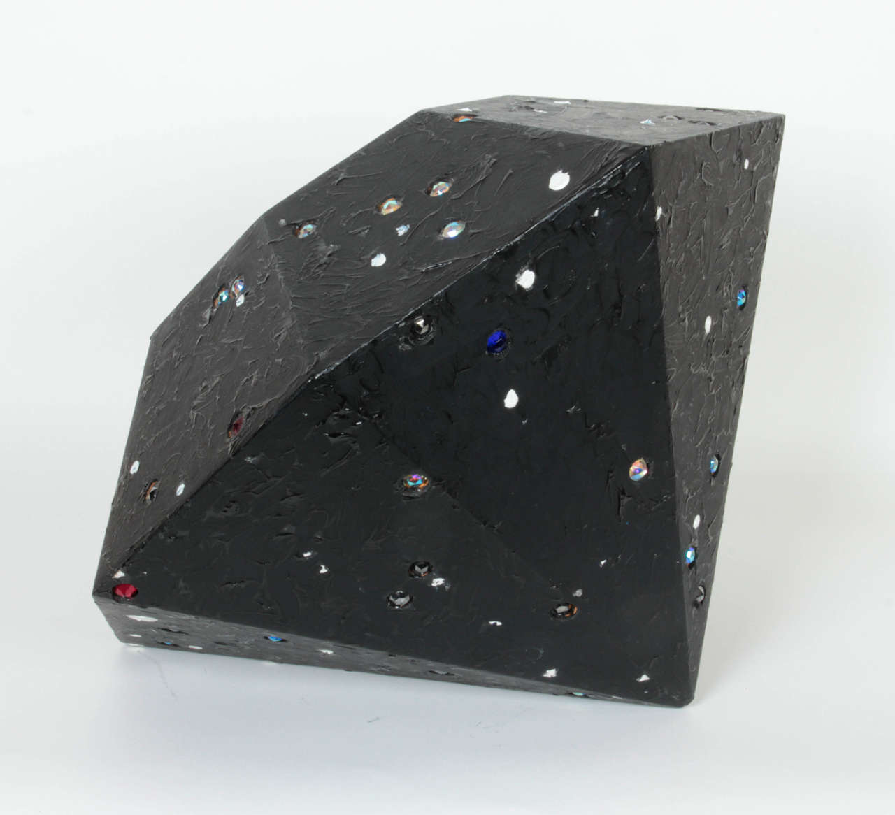 John Torreano Contemporary Sculpture of a Jewel  In Good Condition For Sale In New York, NY