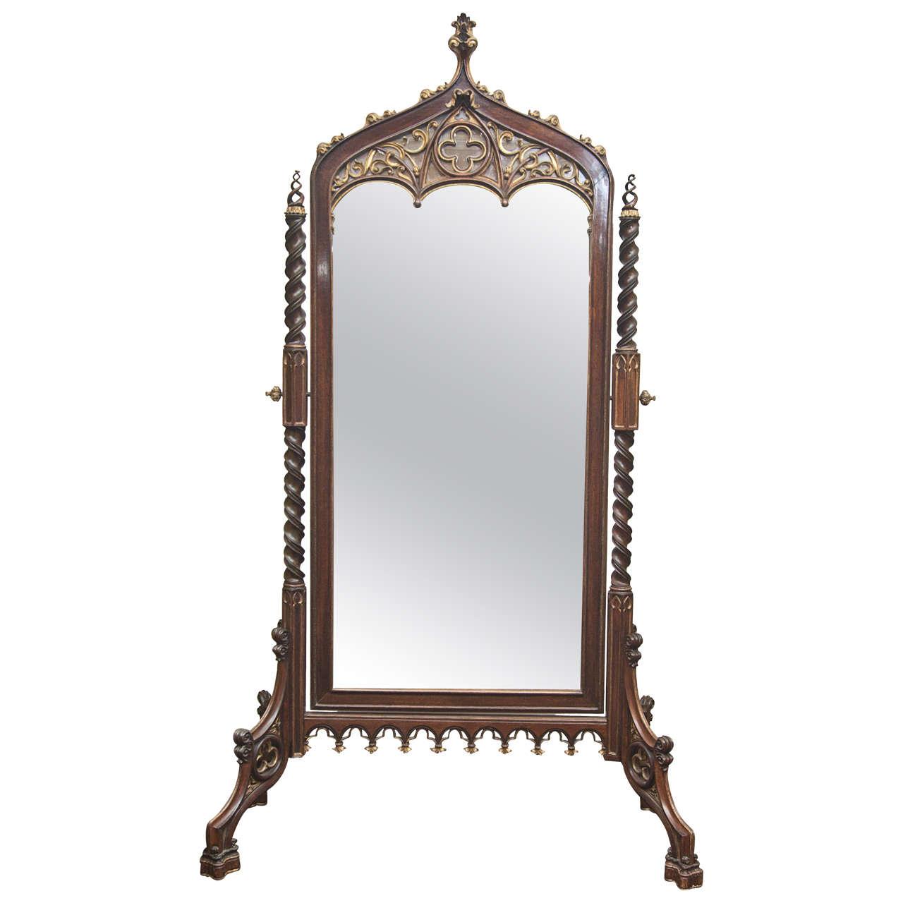 Red floor length mirror - Szerzodesek