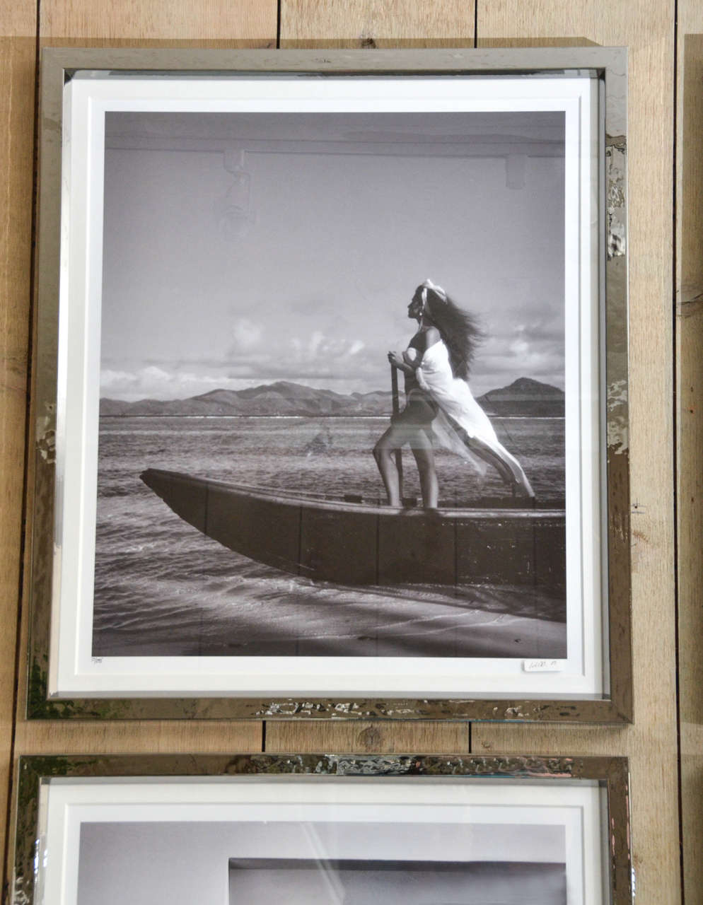Fashion Photographs by Willie Christie in Silvered Metal Frames 3
