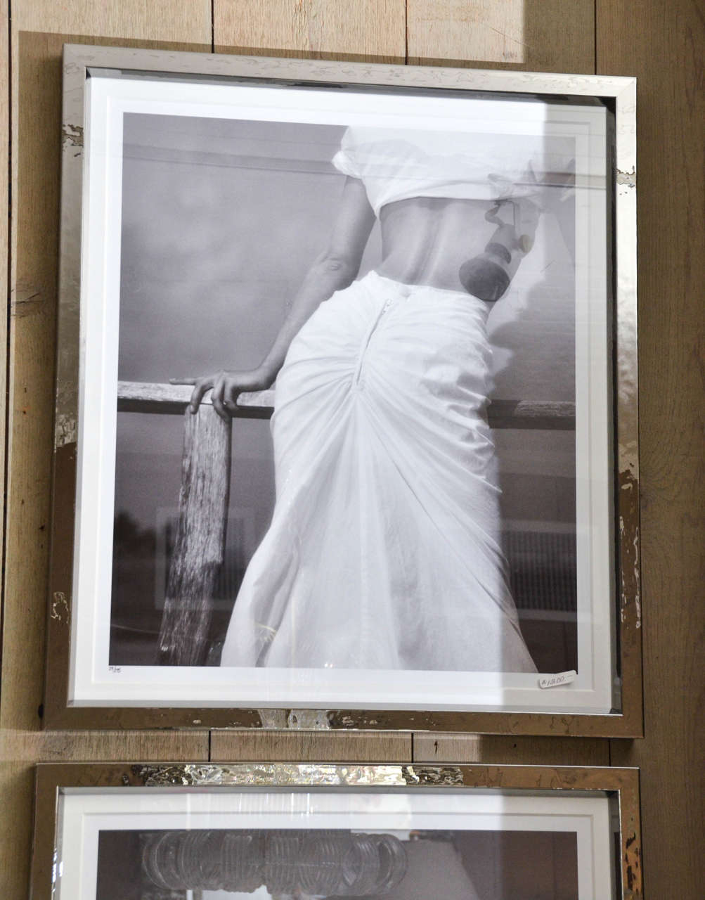 Fashion Photographs by Willie Christie in Silvered Metal Frames 4