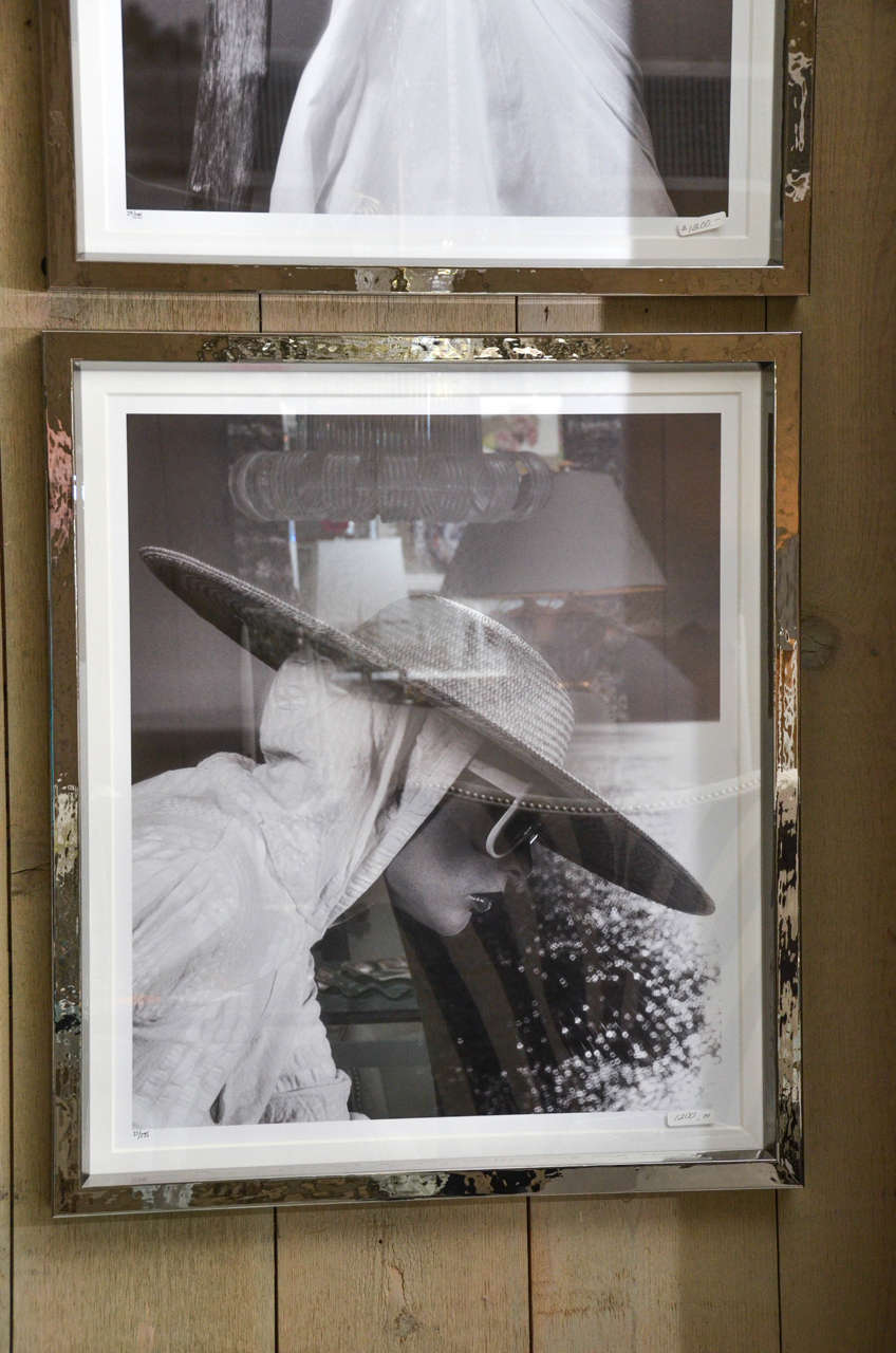 Fashion Photographs by Willie Christie in Silvered Metal Frames 5