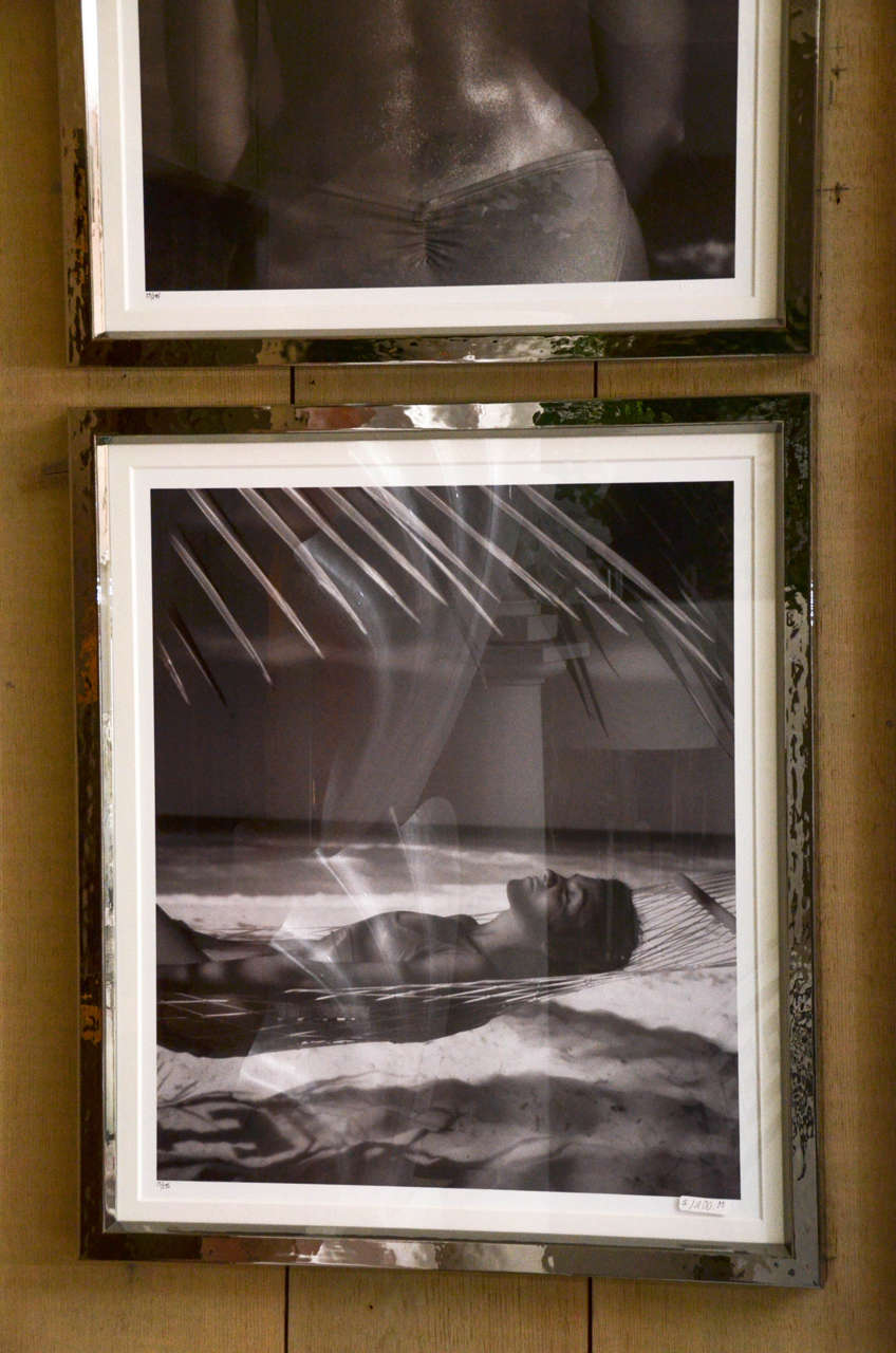 Fashion Photographs by Willie Christie in Silvered Metal Frames 8