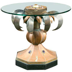 Anthony Redmile Mixed Metal Table