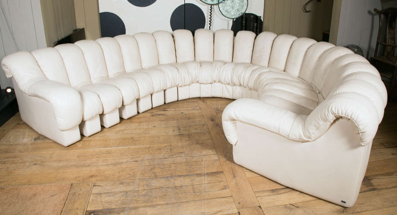 Endless Sofa Ds600 By De Sede With 22 Sections In Off