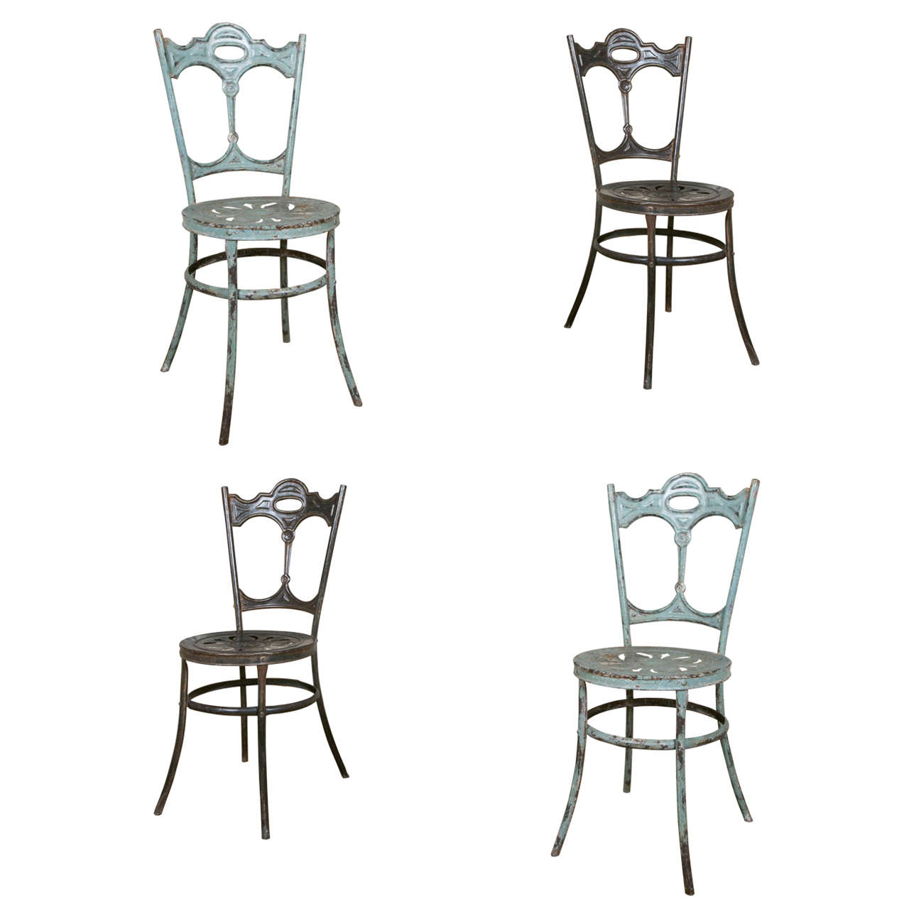 set of eight italian garden chairs by carlo crespi  circa 1910 at 1stdibs
