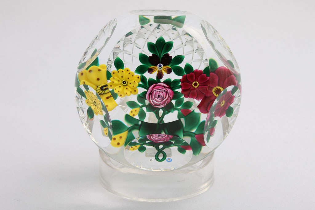 Ray And Bob Banford Bouquet Paperweight At 1stdibs