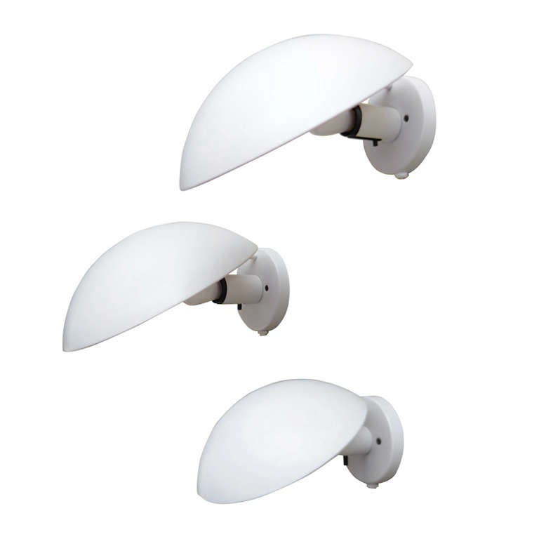 Multiple PH-Hat Sconces Two Sizes by Poul Henningsen for Louis Poulsen