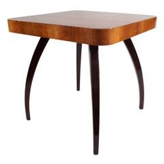 Art Deco Square Walnut Table