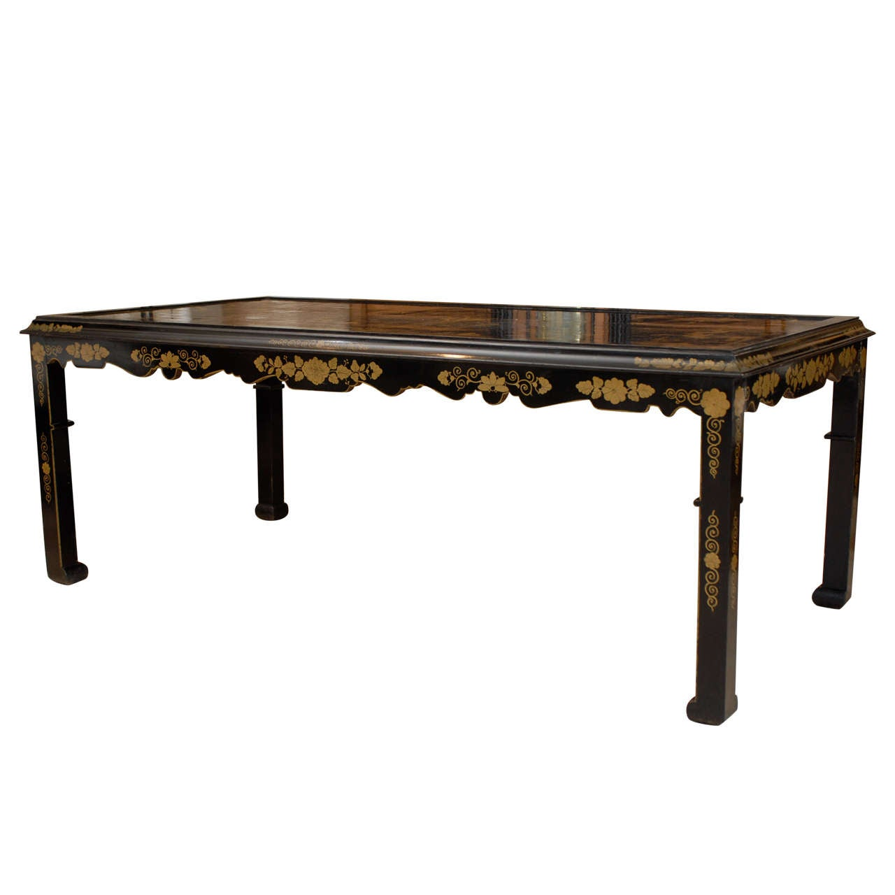 19th century french chinoiserie dining table at 1stdibs