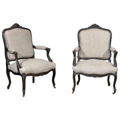Louis xiv style throne arm chair for sale at 1stdibs - Silla luis xiv ...