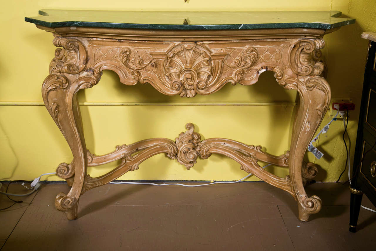 pair of french baroque style consoles by jansen for sale at 1stdibs. Black Bedroom Furniture Sets. Home Design Ideas