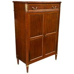 French Louis XVI Style Mahogany Dresser Jansen