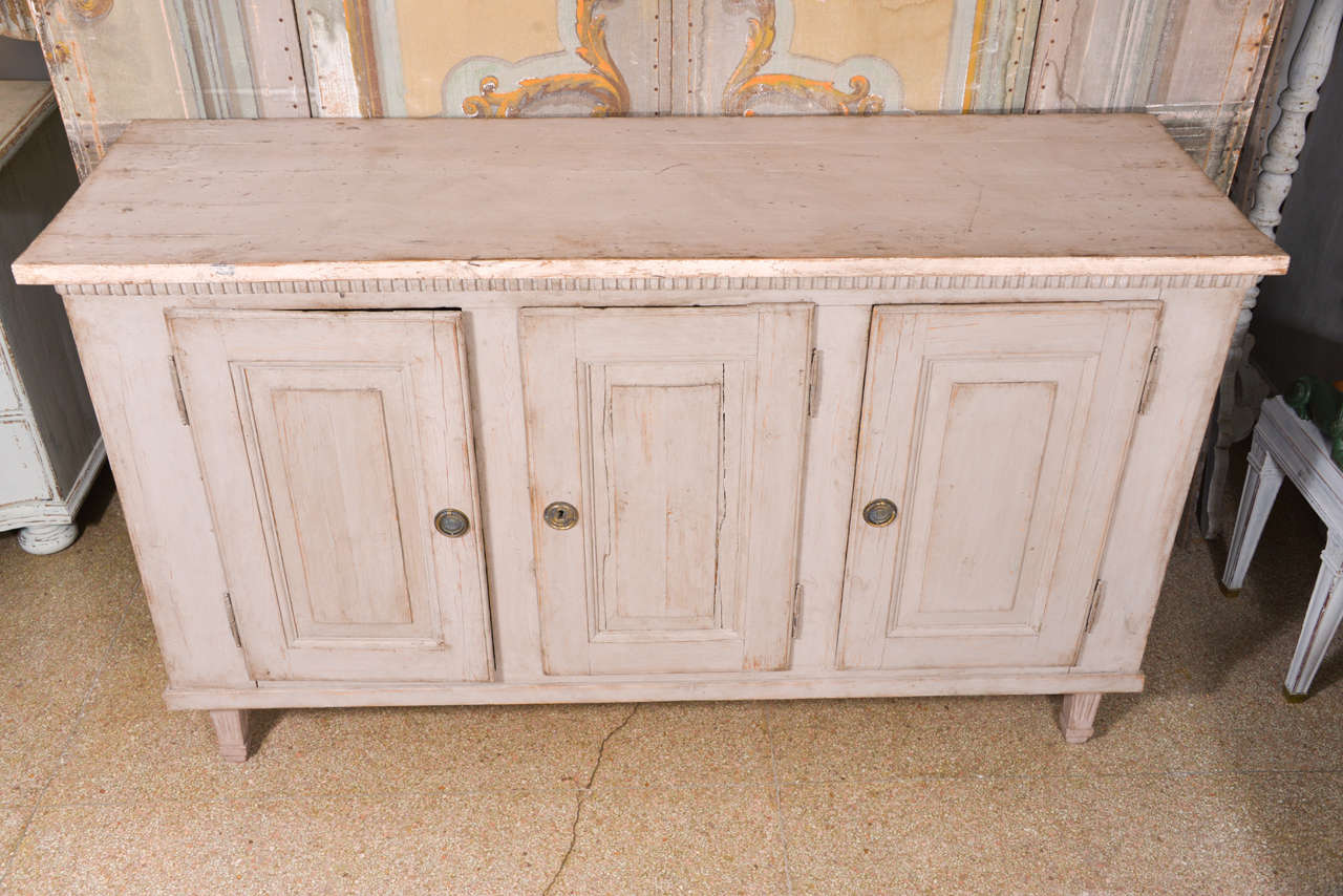 Swedish Gustavian Painted Cabinet Or Buffet At 1stdibs. Full resolution‎  photograph, nominally Width 1280 Height 854 pixels, photograph with #AC681F.