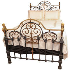 Queen Size French Empire Bed