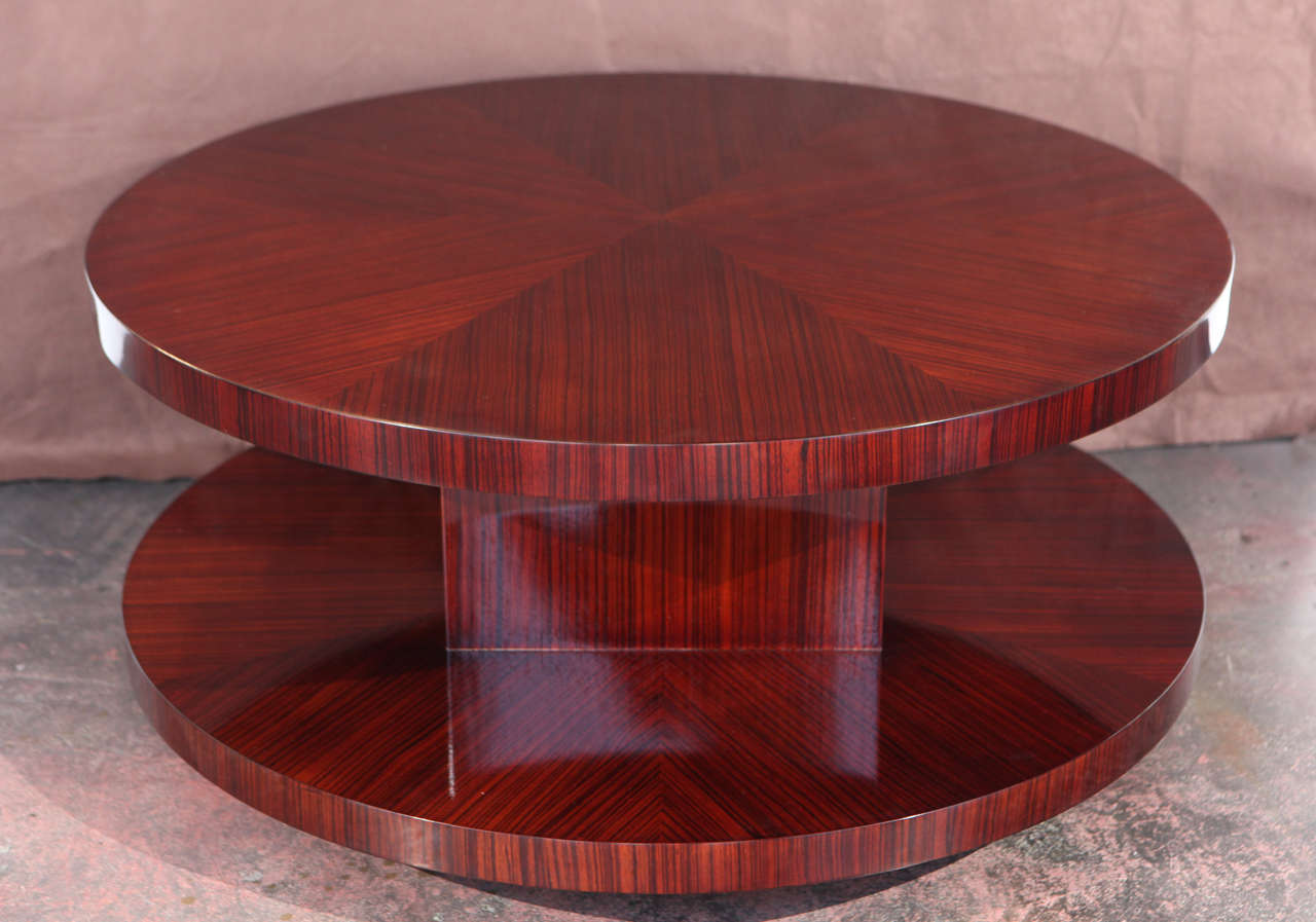 Classic Lazy Susan Coffee Table At 1stdibs