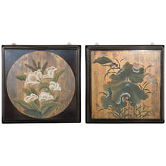 Fine Set of Two Decorative Wall Panels