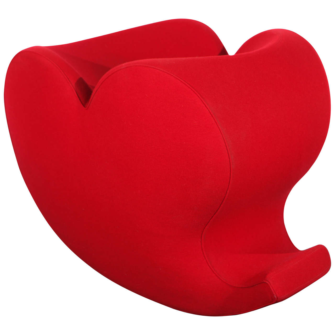 Lovely Soft Heart Rocking Chair by Ron Arad, Moroso