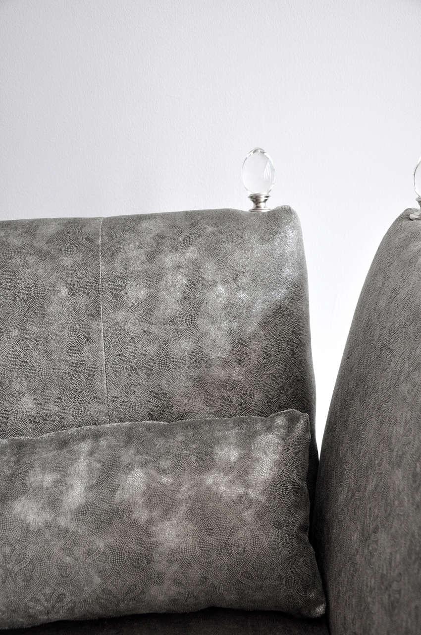 Royal Finial Sofa At 1stdibs