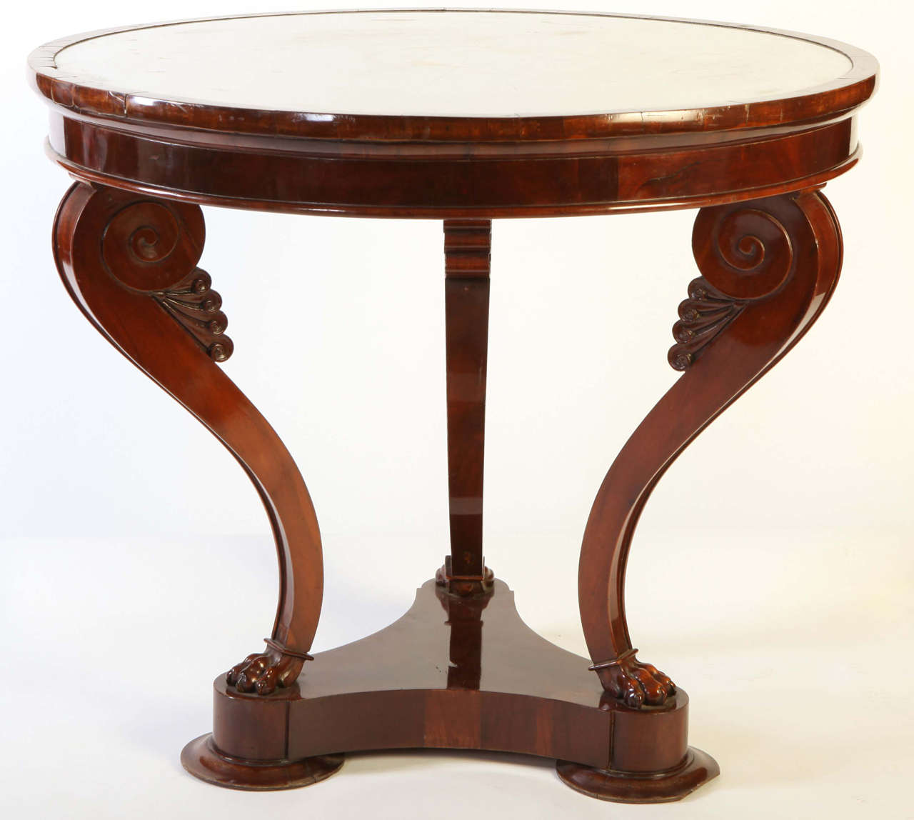 An italian mahogany gueridon table for sale at 1stdibs - Archives departementales 33 tables decennales ...