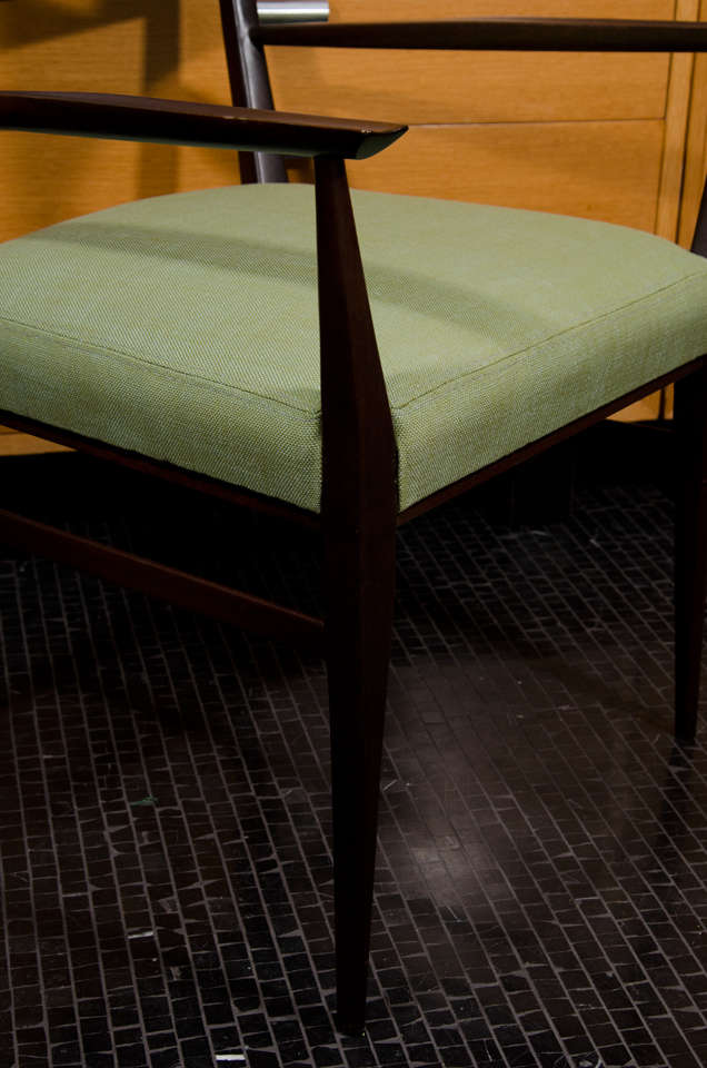 paul mccobb single dining desk chair with arms at 1stdibs