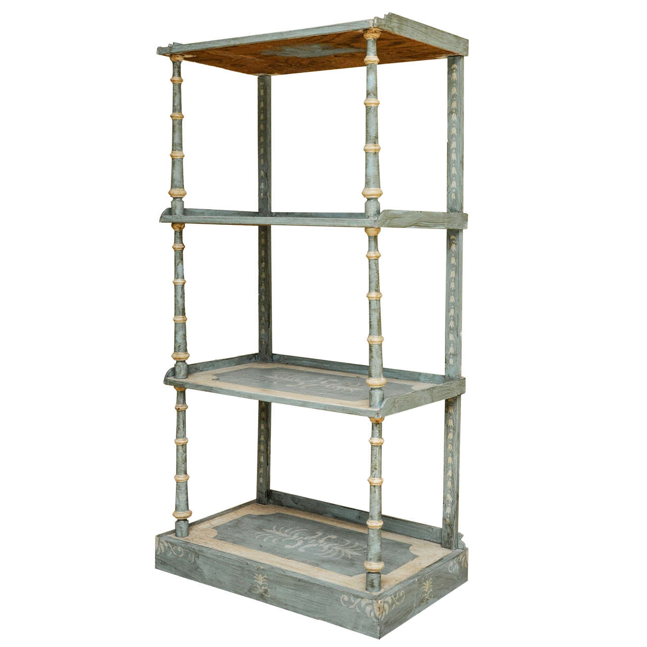 Italian etagere at 1stdibs - Etagere cases carrees ...