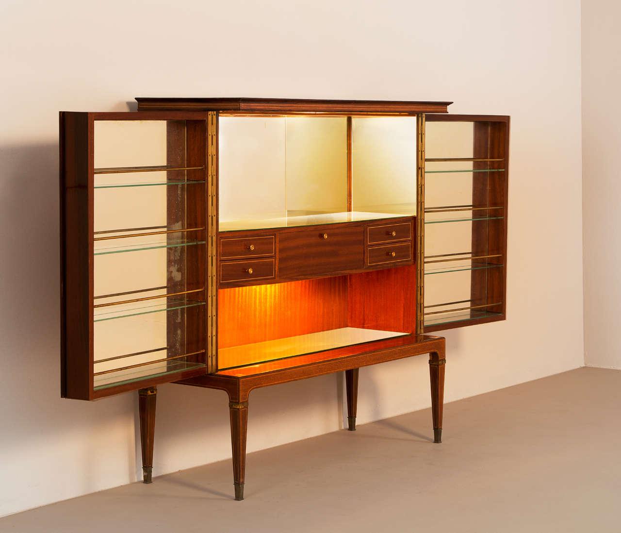 Paulo Buffa Large Liquor Cabinet For Sale At 1stdibs