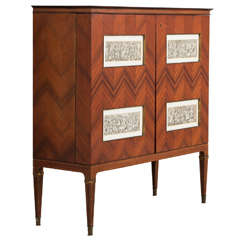 Paulo Buffa Large Liquor Cabinet